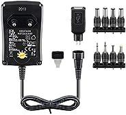 通用电源3 v / 4.5 V / 5 V / 6 V / 7.5 V / 9 V / 12 V 包括8适配器插头 Plus USB