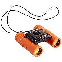 QuestGear 兒童雙筒望遠鏡 – 8x21,輕質緊湊兒童玩具雙筒望遠鏡,適用于觀鳥、露營、旅行 – 高分辨率、可調節焦距、防水