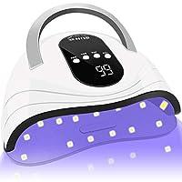 UV LED 美甲灯,120W *干燥器,42 个 LED 紫外线灯凝胶灯,快速固化*凝胶抛光 LED 灯,带自动传感器 4 个定时器,专业紫外线*灯,适用于沙龙和家庭使用