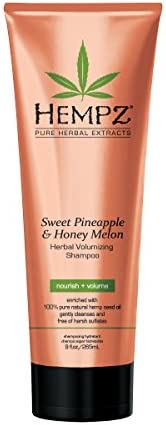 Hempz Sweet Pineapple and Honey Melon 草本丰盈洗发水 9 盎司