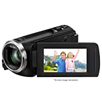 Panasonic Full HD Camcorder with 50x Stabilized Optical Zoom (Black)