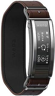 Sony 索尼 SONY wena 智能手表 电子货车 搭载Alexa运动量计 支持iOS/Android wena 3 leather Brown WNW-C21A/T