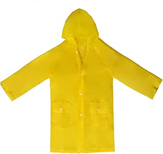 Taiduosheng 4~13 岁儿童连帽夹克雨衣罩长雨衣
