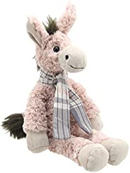 Wilberry - 经典 - 大号粉色驴毛绒玩具