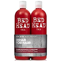 Bed Head by Tigi Urban Antidotes Resurrection 洗發水和護發素,適用于受損發質,2 x 750毫升