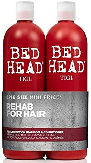 TIGI Bed Head Urban Antidotes Recovery 洗发水 + 护发素损伤 2 级两件套,50 盎司(2 x 750毫升 )