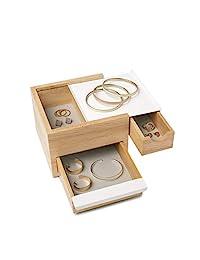 umbra 配件收纳 STOWIT JEWELRY BOX (Storyet 珠宝盒) 自然色 Mini 1005314-390