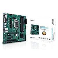 ASUS 华硕 PRO B460M-C/CSM LGA1200 (Intel * 10 代) uATX 商用主板(双 M.2,Intel LAN,2X DisplayPort,4K @ 60Hz,LPC 调试Header 和 ASUS 控制中心Express)