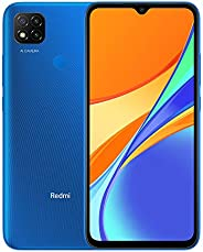 Xiaomi 小米 Redmi 9C (64GB, 3GB) 6.6 英寸 HD+, 5000mAh 电池, 10W 充电器,双 SIM GSM 解锁全球 4G LTE(T-Mobile, AT&T, Metro