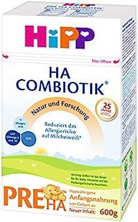 Hipp 喜宝 HA Combiotik 婴儿奶粉 Pre段(适用于初生婴儿),4盒装(4 x 600g)