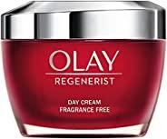Olay 玉兰油 Regenerist 3 点紧致润肤霜 无香精 适用于紧致皮肤,50毫升