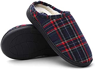 Seranoma 女式格子夏尔巴舒适拖鞋 | 封闭拖鞋 | 舒适轻盈