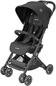 Maxi-Cosi 迈可适 1233672111 Lara 2,轻便小巧,可折叠婴儿车,适用于约6个月至4岁,*大22千克,基本黑色,6400克