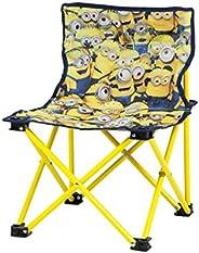 CAPTAIN STAG 鹿牌 小黄人 户外椅 座椅 小巧椅 带背面口袋 小黄人/3D UY-8033