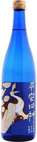 佐佐木酒造 平安四神 吟酿酒(蓝色) [ 日本酒 京都府 720毫升 ]