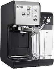 Breville 铂富 PrimaLatte II 半自动泵压式咖啡机 19 bar压力萃取/自带牛奶打发器/双杯制作