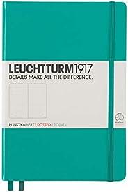 LEUCHTTURM1917 灯塔中开点格笔记本翠绿色硬封皮(A5)