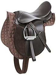 Kerbl 32198 Haflinger Saddle Set - Brown