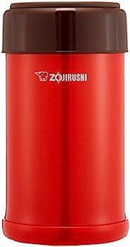 ZOJIRUSHI 象印 保温盒 便当盒 不锈钢 保温保冷 750ml 番茄红 SW-JA75-RV