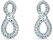 SWAROVSKI Infinity 女士珠宝系列,铑抛光,透明水晶