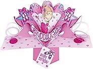 Second Nature 芭蕾舞女孩孙女生日弹出式贺卡 - POP157