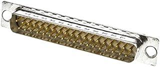 HARTING D-sub连接器 (焊接端子) 公头 37极 9670375604