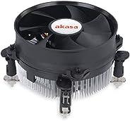 Akasa AK-CC7108EP01 散热器和风扇包括 92 毫米低噪音 PWM 风扇,插座 775/1155/1156/CPU,*大为 77W