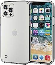 Elecom 宜丽客 iPhone 12 / 12 Pro 手机壳 混合动力 耐冲击 透明 PM-A20BHVCCR