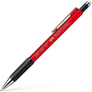 Faber-Castell 辉柏嘉 134726 – 自动铅笔 Grip 1347,厚度:0.7 毫米,红色