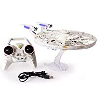 Air Hogs,星际迷航 U.S.S Enterprise NCC-1701-A,带灯光和声音的遥控无人机,2.4 GHZ,4 通道
