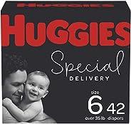 Huggies Special Delivery低*性婴儿纸尿裤尺寸6,42片
