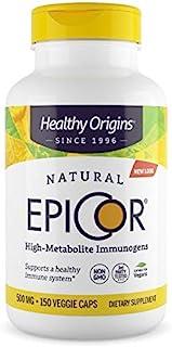 Healthy Origins EpiCor(临床证明的免疫支持)500毫克,150粒蔬菜胶囊