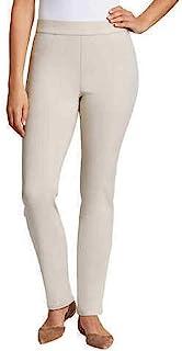 Gloria Vanderbilt 女式 Zoey 套穿直筒裤(石木色,XXL 码)