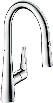 Hansgrohe 汉斯格雅 达丽丝 S 单把手厨房龙头200带拉出式喷头,镀铬