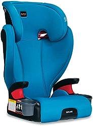 Britax 天际线 2 级*带定位增高汽车*座椅 - 高靠背和无靠背 - 2 层碰撞保护 - 40 至 120 磅 蓝*