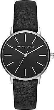 A X 阿玛尼 EXTRANGE 手表 LOLA AX5560 女士 正规进口商品 黑色
