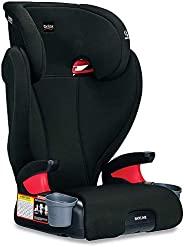 Britax 宝得适 Skyline 2 级安全带定位助推汽车座椅 - 高背和露背   双层冲击保护 - 40 至 120 磅(约18.14至54.43千克),黄昏
