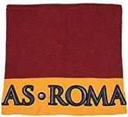 AS Roma 中性款_成人颈部保暖套,带字母贴边,Arancione,均码