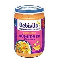 Bebivita 8歲以上菜單 Months 蔬菜米飯 甜味酸味 6瓶裝 (6 x 220 g)