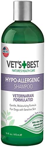 Vet's Best Hypo-Allergenic 狗狗洗发露,适合敏感肌肤,1