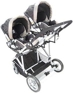 StrollAir 通用汽车作为转换器高款用于双人婴儿推车,黑色