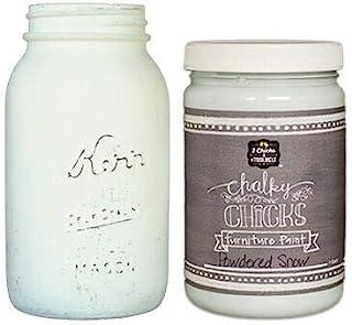 粉笔小鸡 | 粉笔表面漆 | 完美适用于家具、橱柜、家居装饰和 DIY 工艺项目 | 32 盎司(约 907.2 克) | 粉状雪
