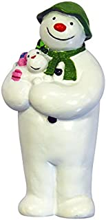 Creative Party F369 雪人手持雪狗蛋糕装饰-12 件