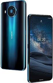 Nokia 诺基亚 8.3 5G Android 解锁智能手机,8/128 GB 内存,四摄像头,双 SIM 和 6.81 英寸屏幕,Polar Night (T-Mobile/Cricke/Tracfonee/Simp