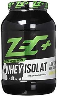 ZEC+ 乳清分离物 -1000g 乳清蛋白蛋白粉,香草味