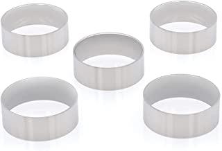 Wapiti Designs 木质转弯环芯(8 毫米不锈钢 - 5 件装,10 个)