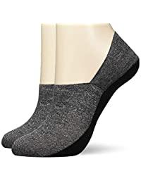 GUNZE 郡是 Tuche 鞋套 运动鞋* 超深鞋 同色2双装 女士