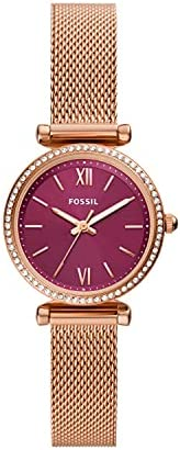 Fossil 手表 CARLIE MINI ES5011 女士 玫瑰金