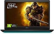 Dell 戴尔 G5 15 游戏笔记本电脑 15.6 英寸 FHD 144Hz 显示屏(2021 *新),* 10 代 Intel Core 英特尔酷睿 i7-10750H,NVIDIA GeForce RTX 2070