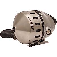 Zebco 888 拋投式漁線輪,3 個軸承(2 個+離合器),即時防倒轉,平滑表盤可調節拖拽,不銹鋼外殼,強大的全金屬齒輪,采用 Zebco 線預繞,銀色